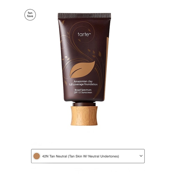 tarte Other - 🆕 Amazonian Clay Full Coverage Foundation SPF 15